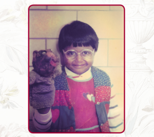 mindy-kaling-childhood-puppet